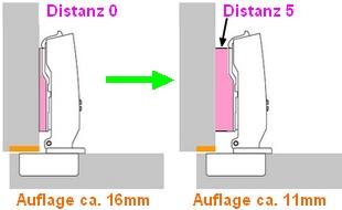 Distanz Montageplatte0