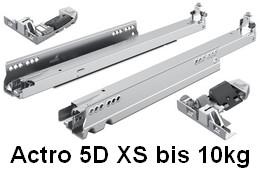 Actro 5D Auszugsführung XS bis 10kg