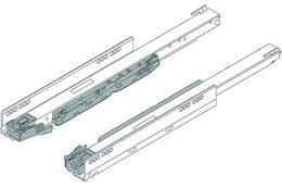 BLUM Korpusschienen für LEGRABOX Systemschubkasten