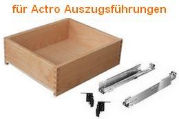 Holzschubkasten passend zu Actro Auszugsführung