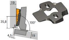 Winkeladapter für Montageplatten