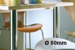Tischbeindurchmesser 80mm