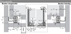 Quadro V6 BM Vollauszug  Silent System  500mm