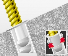 Nylondübel FISCHER SX 10 x 50mm  (50 Stück)