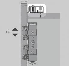Laufprofil WingLine 220 (oben)  2000mm  silber