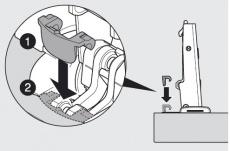 Öffnungswinkelbegrenzer für BLUMOTION 110° auf 86°