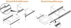 Holzschubkasten  Länge 401 bis 500mm - Breite 401 bis 500mm TypA