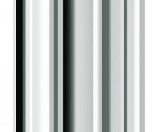 Tischbeine ø60mm x 1100mm aus Stahl Oberfläche Chrom (Set)