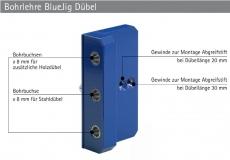 Bohrlehre BlueJig Dübel