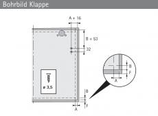 Klappenstütze Lift Basic