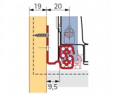 QuadroV6+ SilentSystem  InnoTech Nennl. 470mm Korpusseite 19mm