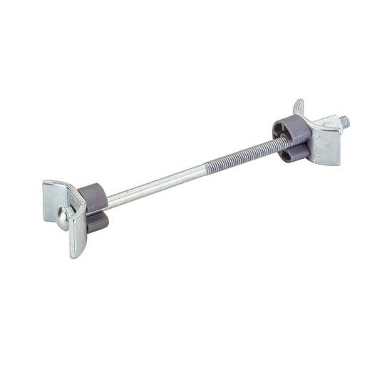 Hettich Arbeitsplattenverbinder AVB 5 Länge 150mm Stahl verzinkt 2 gebogene K...