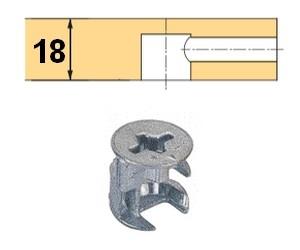 Rastex 15 für 18mm Böden ohne Abdeckrand blank