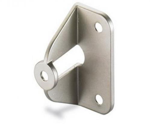 Griff-Adapter für Faltschiebetüren Nickel matt   25mm