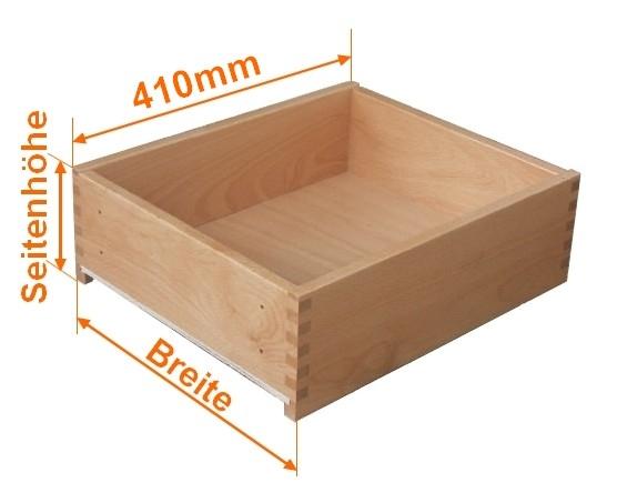 Holzschubkastenlänge 410mm, Breite von 701mm bis 800mm