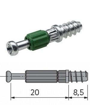 Twister Einschraubdübel für Rastex 15,  DU 319