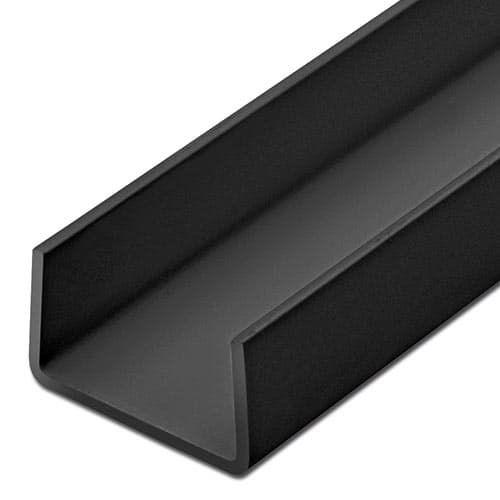 Fabulous U-Profil 18mm schwarz - Selbst-schreinern.de ZL13