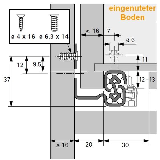 Quadro V6 Vollauszug Mit Silent System 420mm Selbst Schreinern De