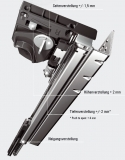 Quadro 4D V6 Push to open, Vollauszug  Nennlänge 250mm
