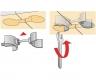 Arbeitsplattenverbinder AVB 5 (100mm)