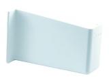 Abdeckkappe für Schrankaufhänger rechts Kunststoff weiß