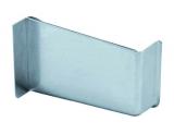 Abdeckkappe für Schrankaufhänger rechts Stahl vernickelt