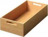 Box 1, Eiche lackiert B/T/H: 236 x 472 x 110 mm