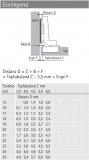 Topfscharnier Intermat 9943  110° (einliegende Tür)