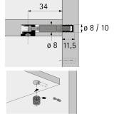 Twister Einschraubdübel für Rastex 15,  DU 644