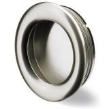 Möbelgriff -Borgoa- Zink, Edelstahl Optik
