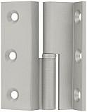 Möbelband, Kr. D 7,5  Rollendurchm. 6mm, 60mm RECHTS, vernickelt matt