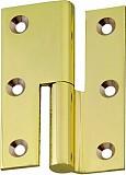 Möbelband FS, Kröpfung B, Rollendurchm. 8mm, LINKS, 50mm