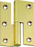 Möbelband FS, Kröpfung B, Rollendurchm. 8mm, RECHTS, 50mm