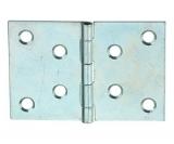 Scharnier Stahl verzinkt mit vernietetem Stahlstift 80/121