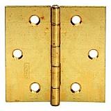 Möbelscharnier Messing blank  50/50   leichte Ausführung