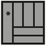 Besteckeinsatz OrgaTray 440 Breite: 451 bis 500mm  Tiefe: 441 bis 520mm