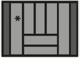 Besteckeinsatz OrgaTray 440 Breite: 601 bis 700mm  Tiefe: 441 bis 520mm