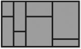 Besteckeinsatz OrgaTray 570 für Korpusbreite 600mm und Nennlänge 450mm
