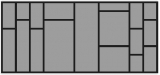 Besteckeinsatz OrgaTray 570 für Korpusbreite 1000mm und Nennlänge 500mm