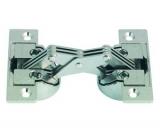 Gehrungsscharnier für Türfronten mit 45° Gehrungen