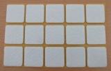 Filzgleiter quadratisch, selbstklebend, 30/30 x 3mm  (15 Stück)