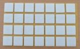 Filzgleiter quadratisch, selbstklebend, 20/20 x 3mm  (28 Stück)
