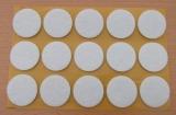 Filzgleiter rund, selbstklebend, 30 x 3mm  (15 Stück)