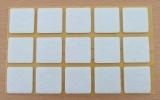 Filzgleiter quadratisch, selbstklebend, 28/28 x 3mm  (15 Stück)