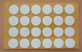 Filzgleiter rund, selbstklebend, 22 x 3mm  (24 Stück)