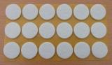 Filzgleiter rund, selbstklebend, 25 x 3mm  (18 Stück)