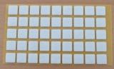 Filzgleiter quadratisch, selbstklebend, 14/14 x 3mm  (45 Stück)