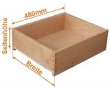 Holzschubkasten Nennlänge 480mm  Breite 700 bis 800mm