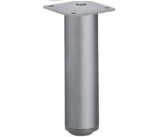 Möbelfuß Lano RO aus Aluminium silber eloxiert 150mm