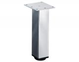 Möbelfuß Lano SQ 46 aus Aluminium poiert 120mm